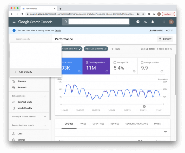 Google Search Console Audit